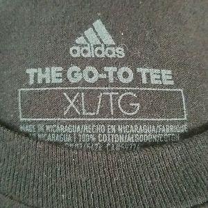 adidas Shirts - Adidas Black and White Shortsleeve Tee